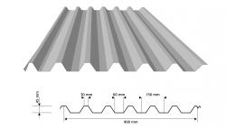 Trapézový plech TP 45 / VP 45