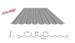 Trapézový plech XTP 18 / XVP 18